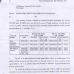 PAY REVISION FOR SI/ASI/SHO/HC OF POLICE NO.5/10/09-5FP1/1033 DATED 15.12.2011