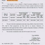 PAY REVISION FOR MUKH SEVKA & SILAI TEACHERS No. 5/10/09-5FP1/1159 DATED 21.12.2011