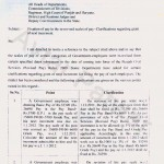 Fixation of pay in the re-revised scales of pay no. 5/55/09-5FP1/429 DATED 9.7.2012